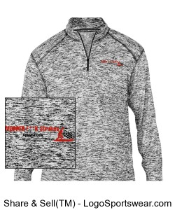 Mens 3/4 zip Design Zoom
